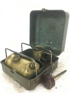 Old Vintage Rare Optimus Camp Stove 111 Kerosene Army Primus SWEDEN