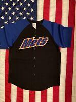 Vintage New York Mets Jersey Men Size L Good Condition