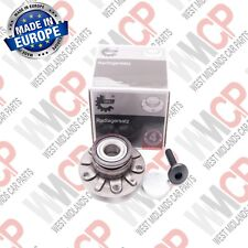 VW Golf MK6 2009 - 2013 Rear hub cojinete de la rueda anillo ABS 30 mm tipo