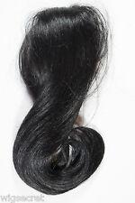 Black Brunette Medium Straight Wavy Clip-in-Extensions