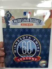60 Season Patch Minnesota Twins 2020 MLB Baseball Jersey Iron On Patch 60th