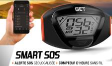 Compteur connecté GET Smart SOS compteur d'heure/maintenance/alarme Moto