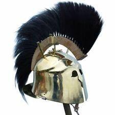 18 gauge Brass Medieval Greek Apulo-corinthian helmet, 4th cen