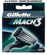 Gillette  Mach  3- 32 Blades (4 x 8 Pack)