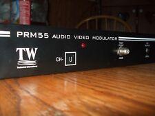 TRADEWIND INTERNATIONAL RACK MOUNT PRM55 AUDIO VIDEO MODULATOR