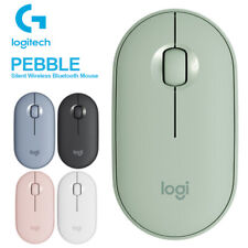 Logitech PEBBLE Color Wireless Bluetooth Mouse Dual-connectivity Mute Original