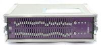 Klark Teknik Square One Graphic 3U Dual 30-Band Equaliser SQ1G in Flight Case