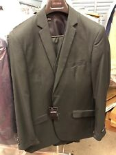 Azzuro Charcoal Grey 3pc suit