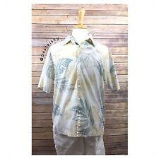 QUICKSILVER EDITION hawaiian style aloha dress shirt men's Medium Med M