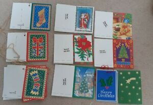 15 assorted Traditional card Christmas gift tags present wrapping labels