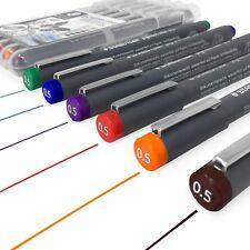 Staedtler 308 Pigmento Liner Fineliner – 0.5 Mm-Cartera de 6 Colores Surtidos