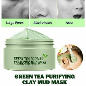 Green Tea Purifying Clay Stick Mask Anti-Acne Deep Cleansing Oil-Control Beauty