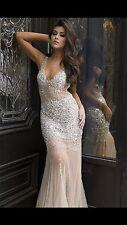 Jovani Beaded Long Dress 90736 Size 00