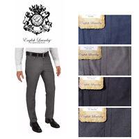 NEW English Laundry Brixton Mens Slim Leg Stretch Comfort 5-Pocket Textured Pant