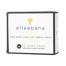 Elleebana Eyelash One Shot Lash Lift REFILL - 10 Pack Application