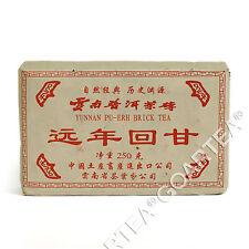 2003 yr 250g Yunnan * Antique Years Honey Sweet Pu'er Puer puerh Ripe Brick Tea
