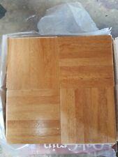OAK GRAIN.. ONE TILES ,,,1 sq ft 12 x 12  X 5/16 Parquet hardwood flooring..