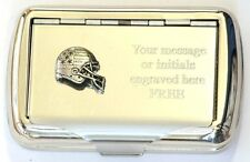 American Football Helmet Tobacco Hand Rolling Cigarette Tin Player NFL Gift
