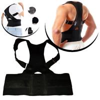 Rückenbandage mit Magnete Rückenstütze Bandage Hohlkreuz Hilfe Rücken M L XL XXL