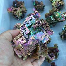 70g Natural Rare Rainbow Titanium Bismuth Specimen Mineral Gemstone Crystal Rock