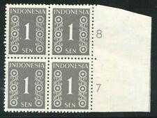 NED. INDIE,  362 P EN 3 EX. NR. 362 IN RANDBLOK VAN 4 , POSTFRIS  Zi920