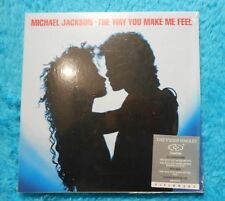 "Michael Jackson Dual Disc "" The Way You Make Me Feel "" Visionary CD DVD Video"