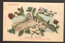VALENCE (26) SOUVENIR Fleuri , Roses de ...