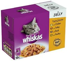 Whiskas Poultry Selection Pouch 12 Pouches  (Pack of 4, Total 48 pouches)