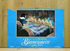 BIANCANEVE E I SETTE NANI fotobusta poster affiche Walt Disney Seven Dwarfs AM30