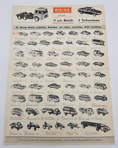 Wiking Katalog 1969 - Bildprospekt