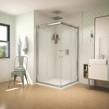 "FLEURCO APOLLO 42""x42""x75"" SLIDING SQUARE SHOWER ENCLOSURE"