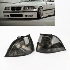 New EURO L+R Corner Smoke Light for 92-98 BMW E36 3-SERIES 2DR Coupe/Convertible