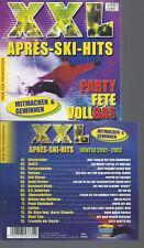 CD- XXL APRES SKI HITS // PROMO 2001-2002