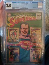 Superman #100 CGC 2.0 anniversary issue (Sep 1955, DC)