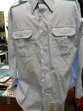 USAF US Air Force Shirt Men's Long Sleeve Uniform Dress