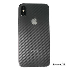 CLEAR Carbon Fiber Rear Back Film Protector Sticker Vinyl Skin iPhone X XS 10