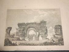 1836 SAINT NON ACQUAFORTE ROVINE ANTICHE PRESSO CANOSA DI PUGLIA REGNO 2 SICILIE