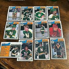 1983-84  O-Pee-Chee  MINNESOTA NORTH STARS  20 card team lot
