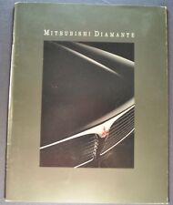 1992 Mitsubishi Diamante 20pg Catalog Sales Brochure LS Excellent Original 92