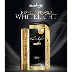 NEW PACKAGING Whitelight Sublingual L-Glutathione Spray AIM Skin Lightening 50g