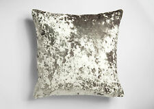 Moulin Luxury Crushed Velvet 17in x 17in Reversible Cushions (Complete with Pad)