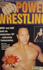 Power Wrestling Januar 2002 WWE WWF WCW + 4 Poster (Sting, Dudleyz, Austin, DDP)