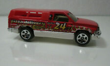 Hot Wheels DODGE RAM PICKUP with CAP   PIZZA DELIVERY 1/64 DIE-CAST
