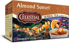 Almond Sunset Herbal Tea, Celestial Seasonings, 20 tea bag 1 pack