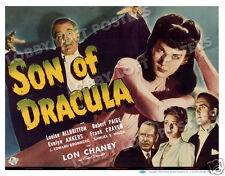 SON OF DRACULA LOBBY TITLE CARD POSTER 1943 LOUISE ALLBRITTON LON CHANEY JR.