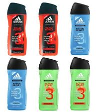 6pz ADIDAS shower gel doccia gel 250ml misti TEAM FORCE AFTER SPORT ACTIVE START