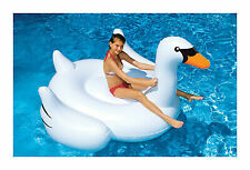 Swimline Giant Swan 75-in Inflatable Ride-On Pool Toy