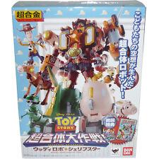 Bandai Chogokin Disney Toy Story Chogattai Daisakusen Woody Robo Sheriff Star