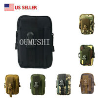 Tactical Molle Pouch EDC Belt Waist Fanny Military Utility Bags Pack Bag Pocket