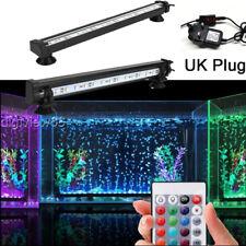 Aquarium Fish Tank LED Light RGB White Blue Strip Light Bar Lamp Lights Decor